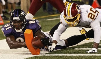 "Boldin is Flacco's ""go-to-guy"" on third downs. (Patrick Semansky/AP)"