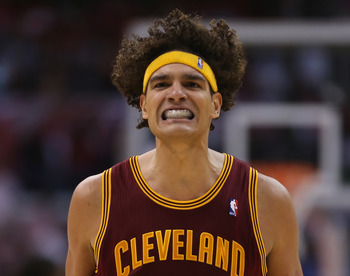 Surprise Anderson Varejao is the league's most efficient center with the Cleveland Cavaliers.