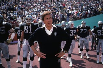Tom Flores was the Oakland Raiders' QB against the Titans.