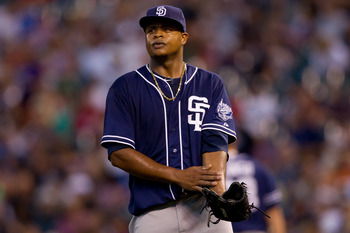 Edinson Volquez's wildness prevents him from pitch deep into games.