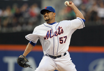 Johan Santana struggled as the 2012 season wore on.