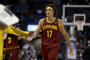 MILWAUKEE, WI - NOVEMBER 3: Anderson Varejao #17 of the Cleveland Cavaliers walks to the bench during the game against the Milwaukee Bucks at Bradley Center on November 3, 2012 in Milwaukee, Wisconsin. NOTE TO USER: User expressly acknowledges and agrees