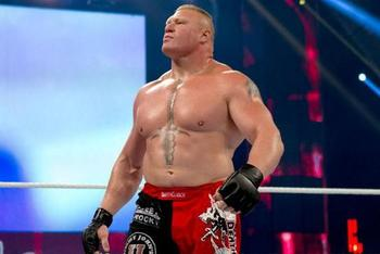 Who would make good fodder for Lesnar when he comes back?