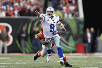 Geno Atkins was a terror today for Tony Romo and DeMarco Murray as he found himself making plays in the backfield often.