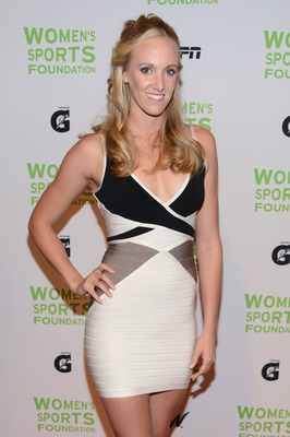 NEW YORK, NY - OCTOBER 17:  Olympic swimmer Dana Vollmer attends the 33rd Annual Salute To Women In Sports Gala at Cipriani Wall Street on October 17, 2012 in New York City.  (Photo by Jason Kempin/Getty Images)