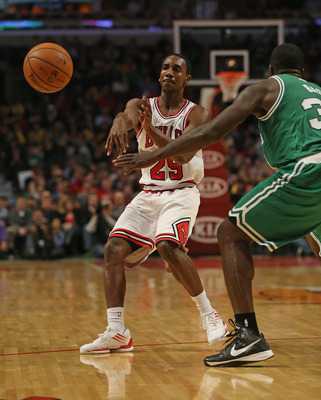 Teague can't crack the Bulls' rotation.