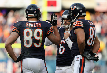 Matt Spaeth, Jay Cutler &amp; Kellen Davis