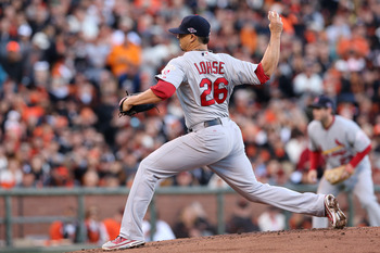 Kyle Lohse may has proven that he can handle NL Central foes.