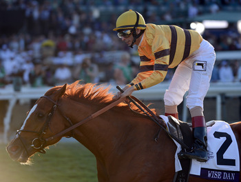 Wise Dan capped off his outstanding year by winning the Breeders' Cup Mile.