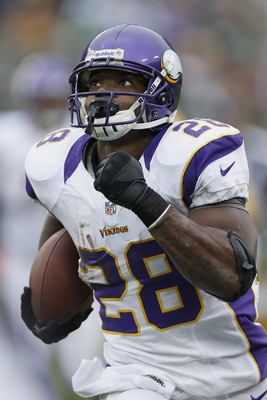 With Percy Harvin officially out for the season Minnesota will continue to ride Adrian Peterson.