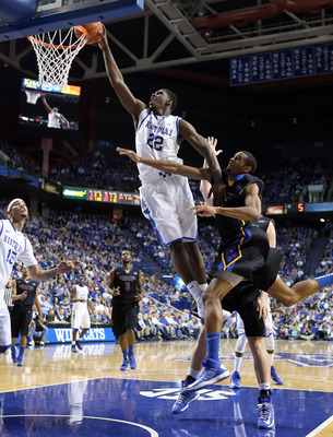 Kentucky freshman forward Alex Poythress
