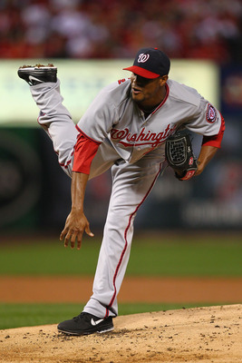 Edwin Jackson was at or near the bottom of the Nationals rotation in several major categories