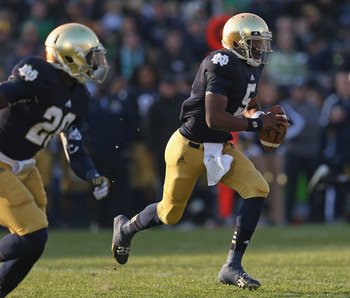 QB play will determine how the red zone plays out for ND.