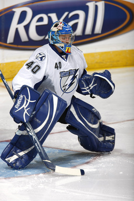 Dustin Tokarski is part of a deep group of Lightning goaltending prospects.