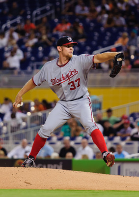 Stephen Strasburg led the Nats' starters with an average fastball velocity of 95.7 mph (FanGraphs.com)