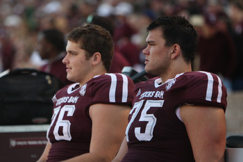 Luke Joeckel and Jake Matthews