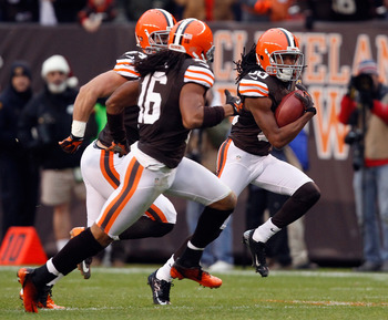 Benjamin's 93-yard punt return TD is the longest in Browns' franchise history.