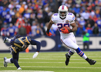 C.J. Spiller inexplicably touched the ball only eight times today.