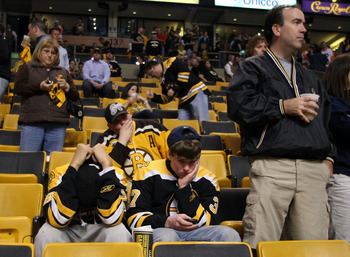 The game 7 loss stung for Bruins fans