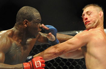 St. Preux is one of Strikeforce's better light heavyweights, but should be easy pickings for somebody like Rua.