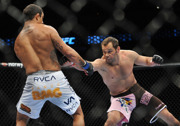 Rich Franklin is a great opponent for Shogun if he returns to fighting.