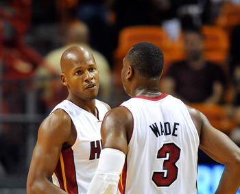 Ray Allen and Dwyane Wade have accommodated each other, even if the collaboration can be challenging.