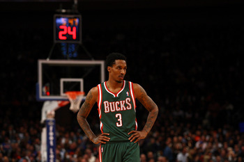 Milwaukee Bucks Brandon Jennings