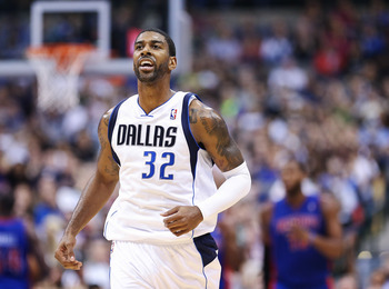 Dallas Mavericks O.J. Mayo