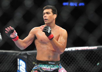 August 4, 2012; Los Angeles, CA, USA; Lyoto Machida during UFC on FOX at Staples Center. Mandatory Credit: Gary A. Vasquez-USA TODAY Sports