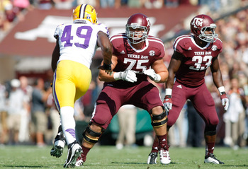 Aggie RT Jake Matthews vs. LSU