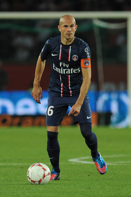 PSG Captain Christophe Jallet