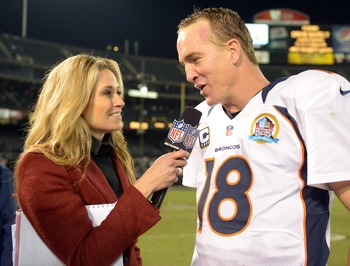 Peyton Manning had a good game on Thursday Night Football.