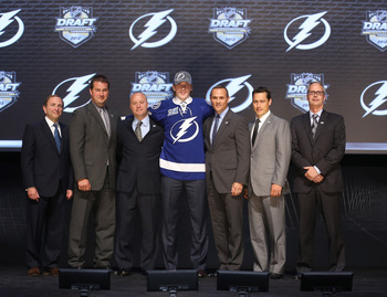 Tampa Bay Lightning at the 2012 NHL Draft