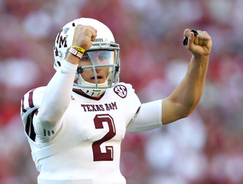 Aggie QB Johnny Manziel vs. Alabama