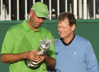 Tom Watson knows that Claret Jug could have been his had he made an eight-foot putt.
