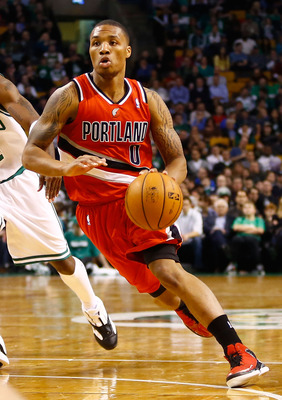 Damian Lillard has jumped out as the Rookie of the Year frontrunner.