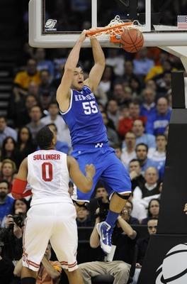 Former UK center Josh Harrellson