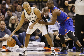 San Antonio Spurs' Tony Parker