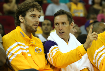 Pau Gasol will quickly adjust to the mindset of Steve Nash: movement and creating space are the keys.