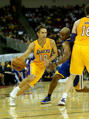 Steve Nash feels that Pau Gasol can help him win his first NBA Championship.