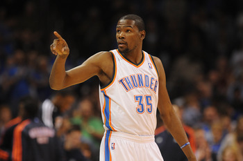 Kevin Durant has the Thunder among the best teams in the West.