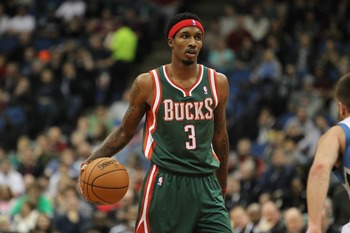 Brandon Jennings is the most efficient player on the Bucks.