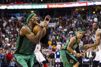 The Celtics are on the shoulders of Rajon Rondo.