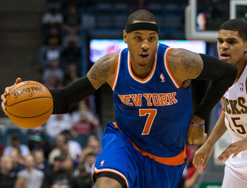 Carmelo Anthony has New York playing top level basketball.