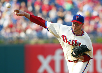 Too hittable in 2012, Halladay is pitching for another contract.