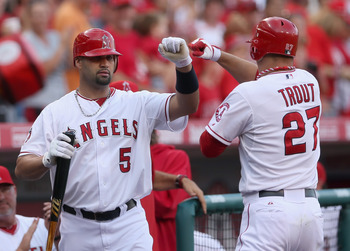 Pujols will pass the torch to Trout