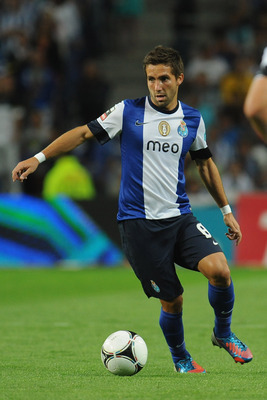 Porto's Joao Moutinho.