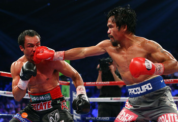 Pacquiao appeared on the verge of dominance.