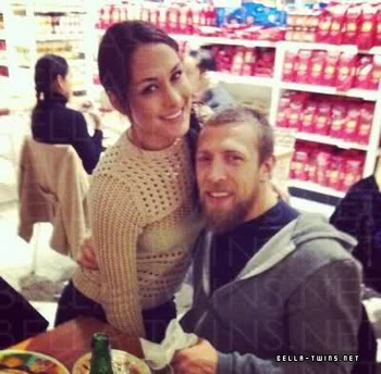 Daniel Bryan is dating former WWE Diva Brie Bella. Photo Courtesy of Bella-Twins.net
