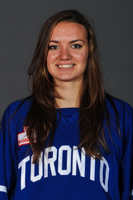 Catherine White logged a goal in her first appearance for the Furies (Image from Toronto Furies toronto.cwhl.ca)
